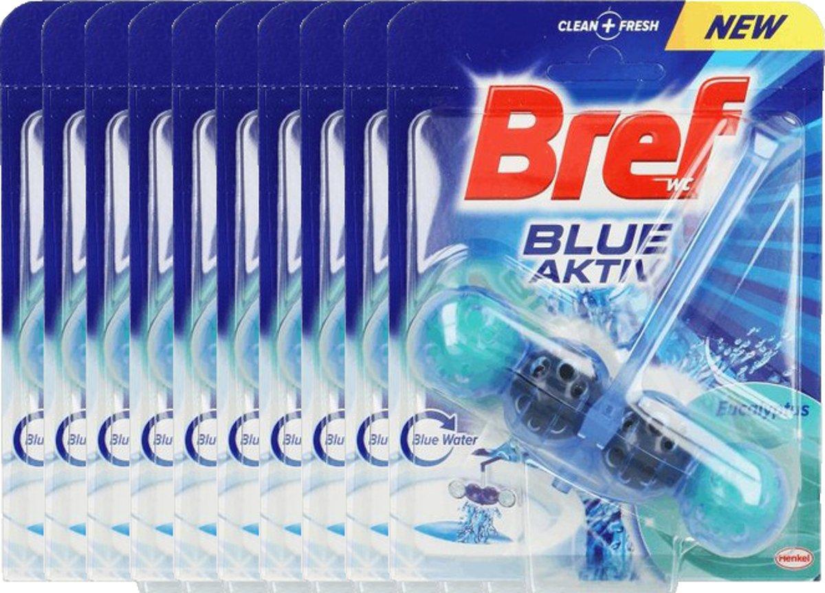 Bref Blue Active Eucalyptus - 10 x 50 gr - WC Blok - Voordeelverpakking kopen