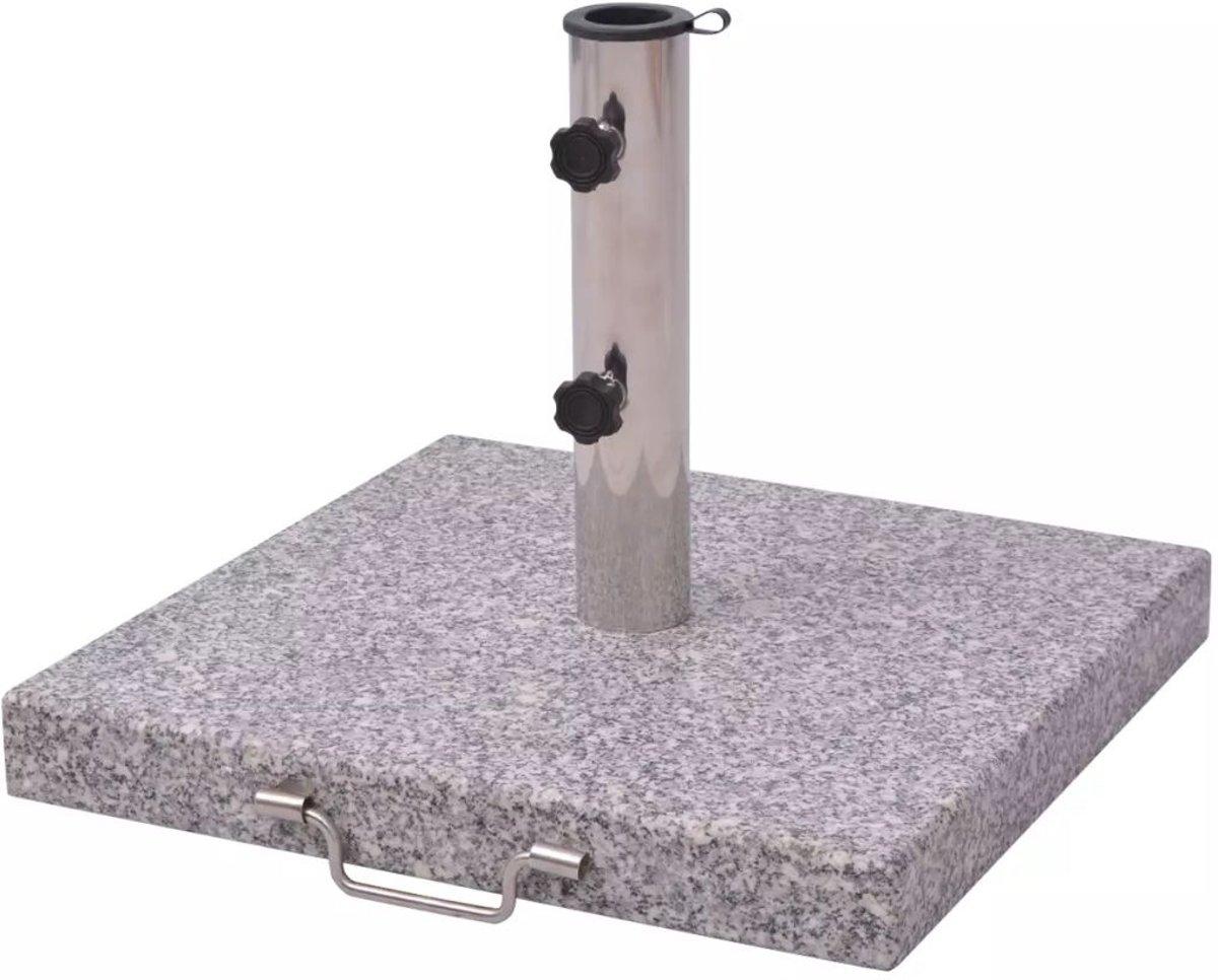 vidaXL - Parasolvoet Graniet - 30 kg vierkant 40550 kopen