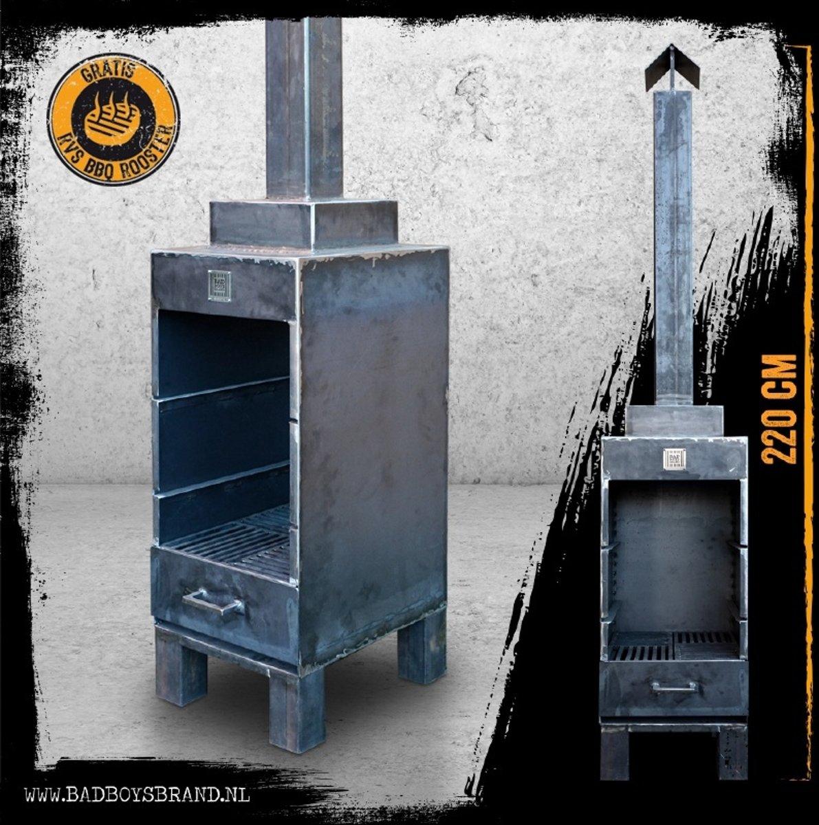 Sparta - Tuinhaard 220cm - BadBoysBrand - Staal - 100% Made in Jail kopen