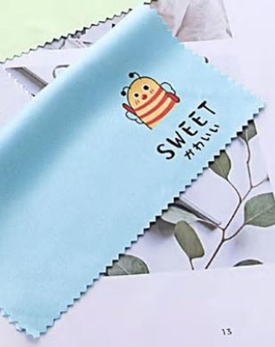 brillenpoetsdoekje Sweet - microvezel brillendoekje poetsdoekje kopen