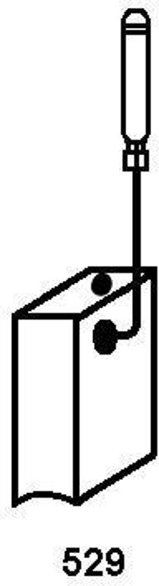 Koolborstel-set 1199.03 voor Bosch handgereedschap, met automatische stop kopen