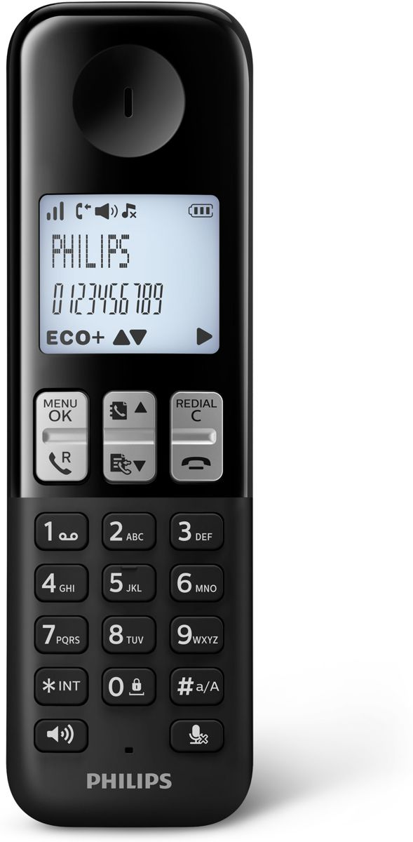 Bolcom Philips D2302 Duo Dect Telefoon Zwart