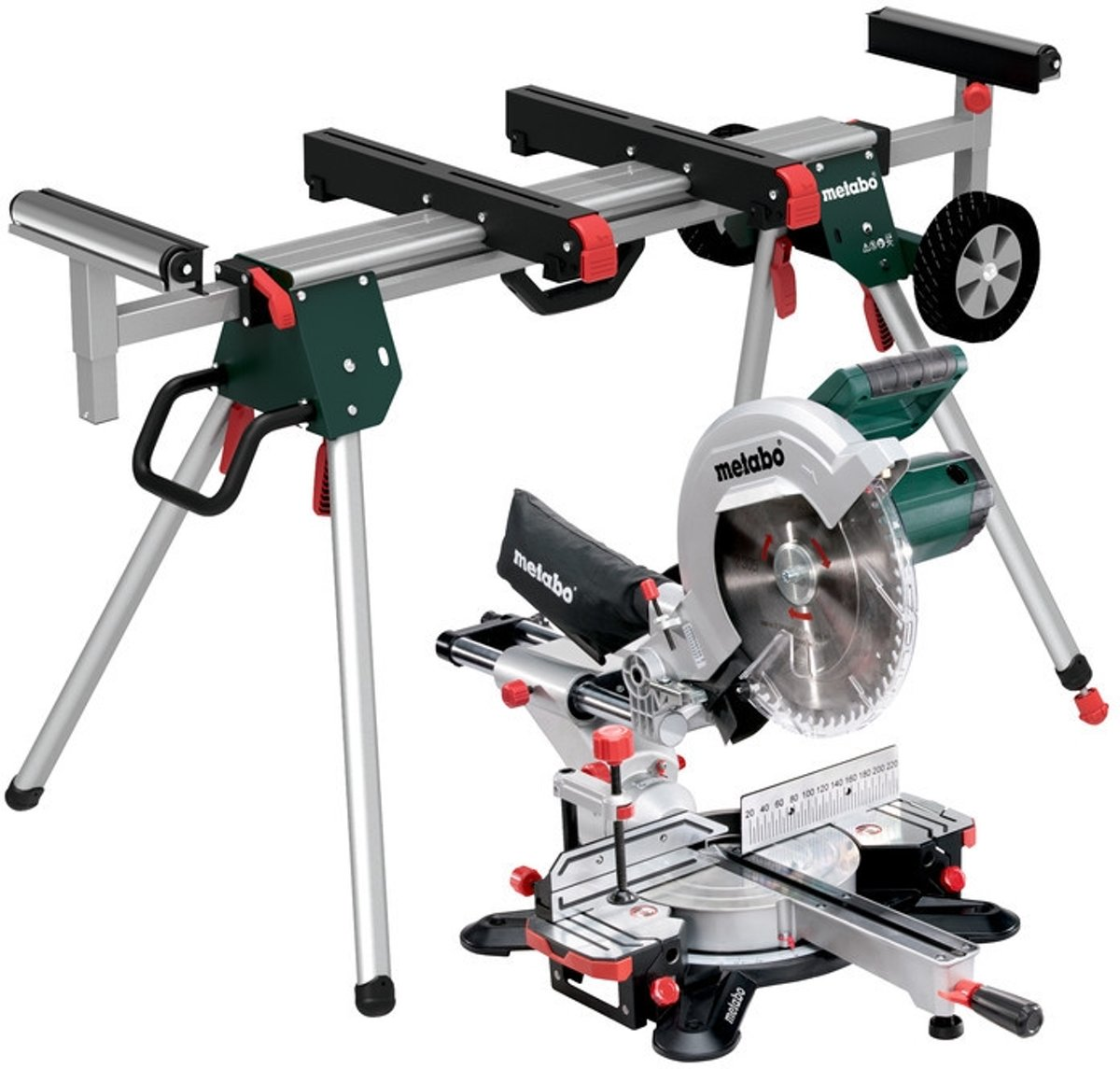 Metabo KGS 305 M Set Afkortzaag 305mm 1600 - 2000W + Machinestandaard KSU 251
