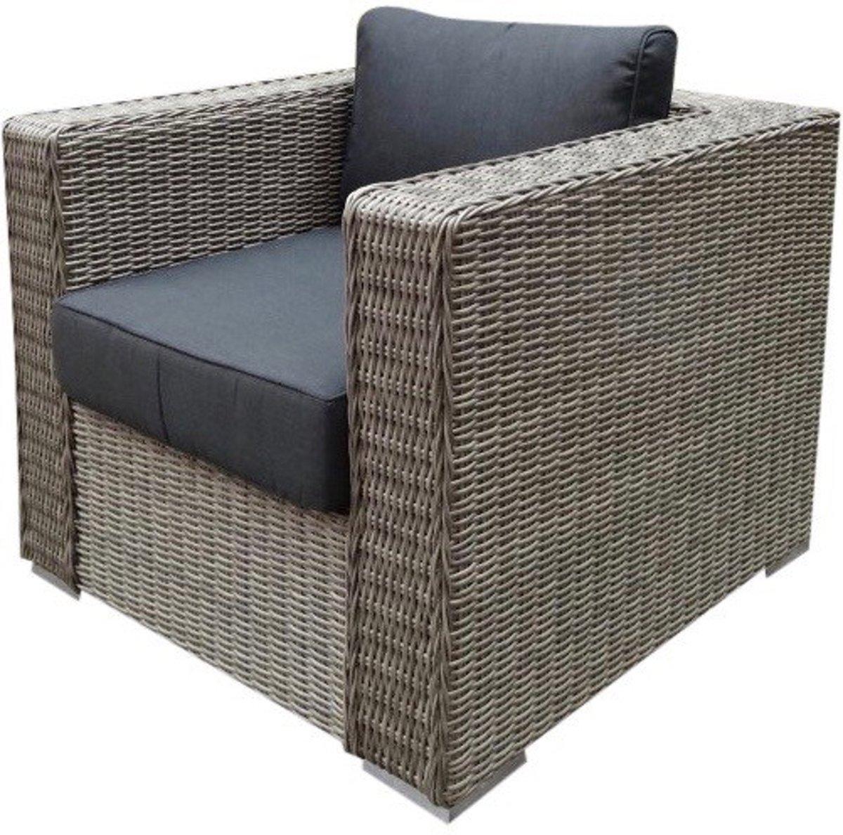 Matino lounge tuinstoel grijs kopen