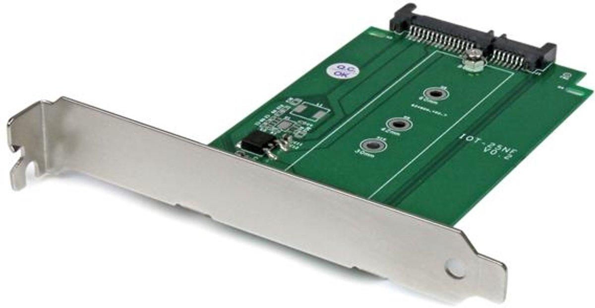 StarTech.com M.2 naar SATA SSD-adapter in uitbreidingssleuf gemonteerd kopen