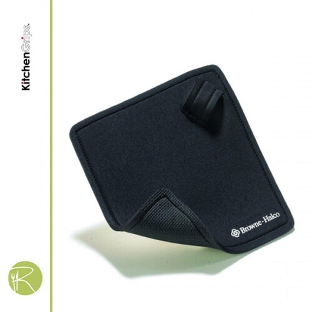 Pannenlap & Onderzetter - Kitchengrips - Horeca - hot pad met handgreep - 17 x 17 cm kopen