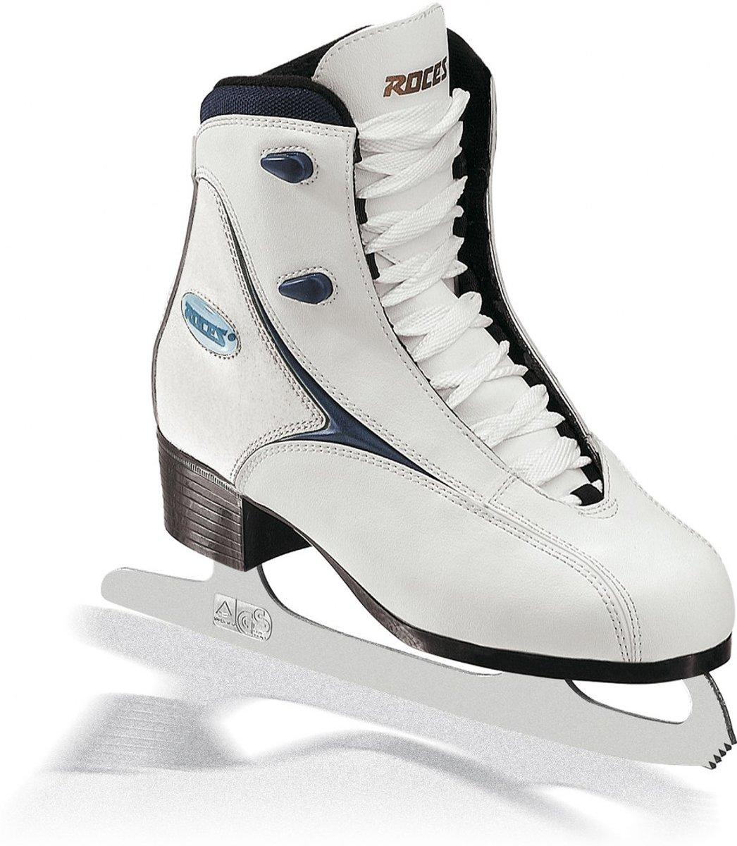ROCES Kunstschaatsen RFG 1 Wit/Donkerblauw 37