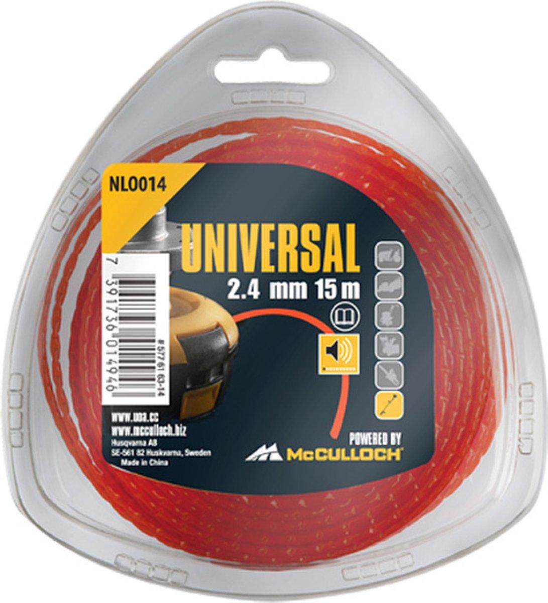 UOA Nylon draad NLO014 2,4 mm x 15 meter kopen