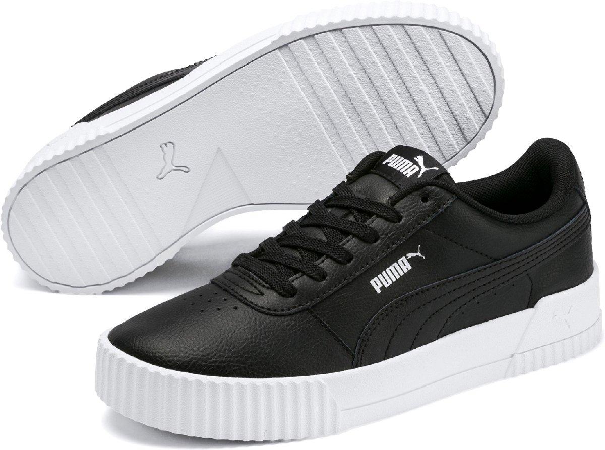 PUMA Carina Sneakers Dames Silver Gray Puma White Puma Silver Maat 37