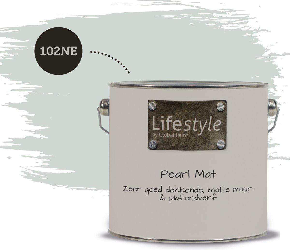 Lifestyle Pearl Mat - Extra reinigbare muurverf - 102NE - 2.5 liter kopen