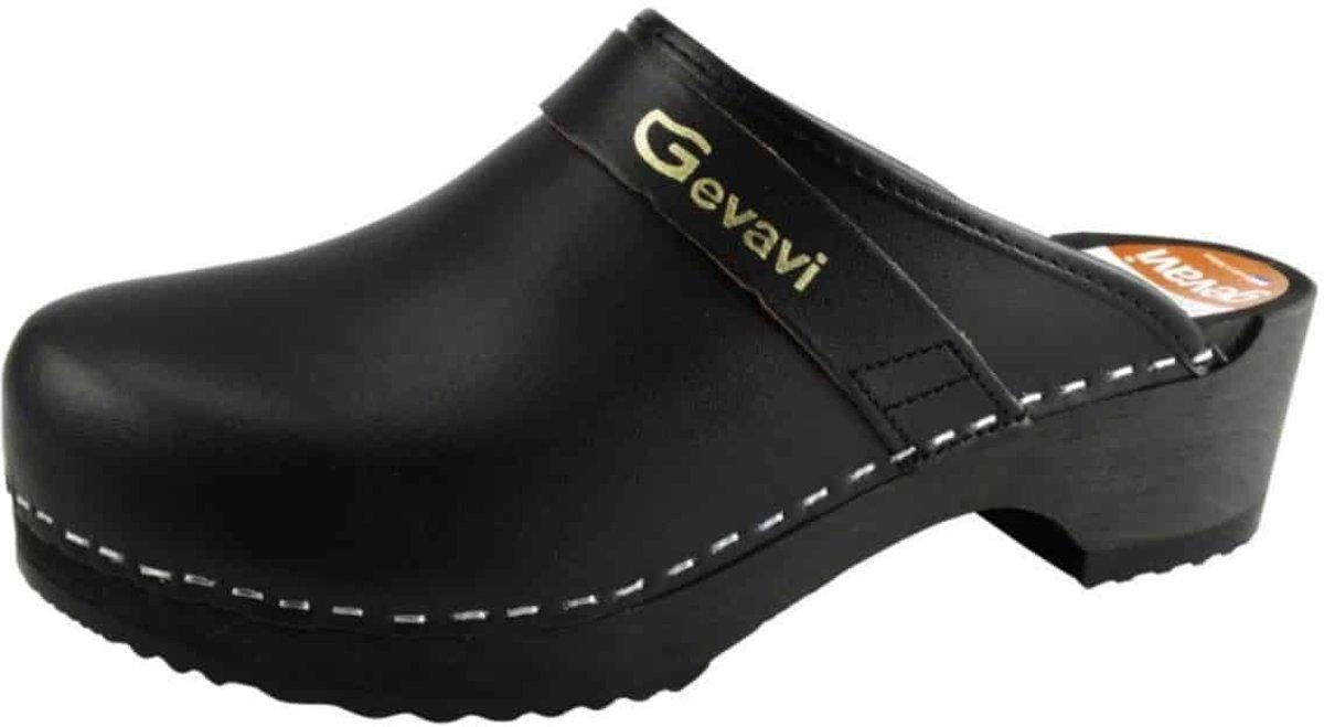 Klompschoen Gevavi 9200 zwart - 41 kopen