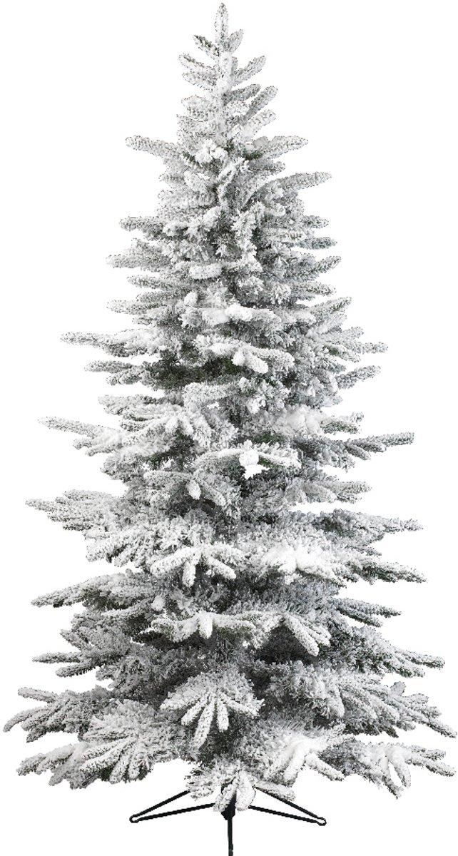 Kerstboom besneeuwd 180 cm kopen