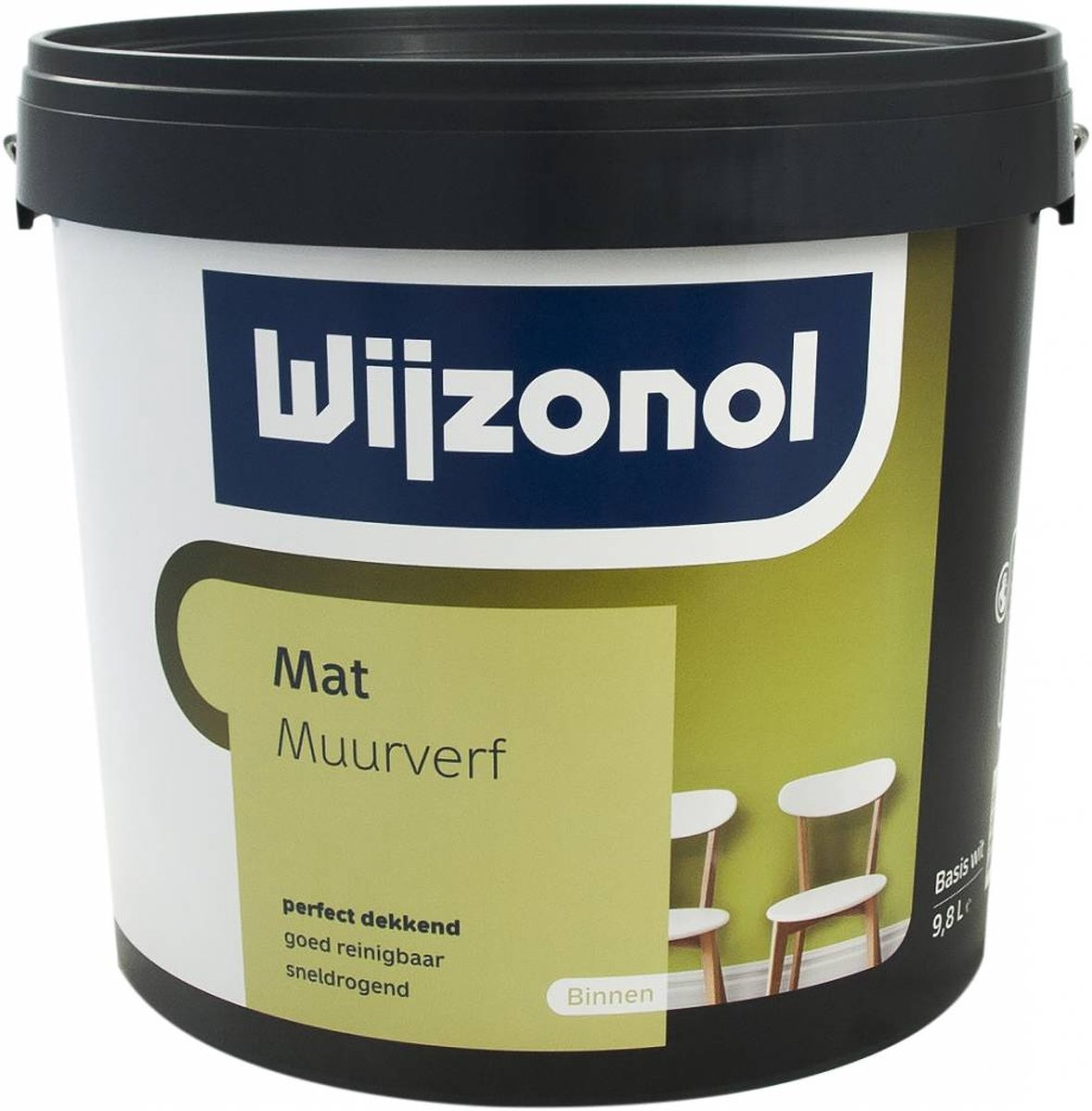 Muurverf mat - 025 Liter kopen