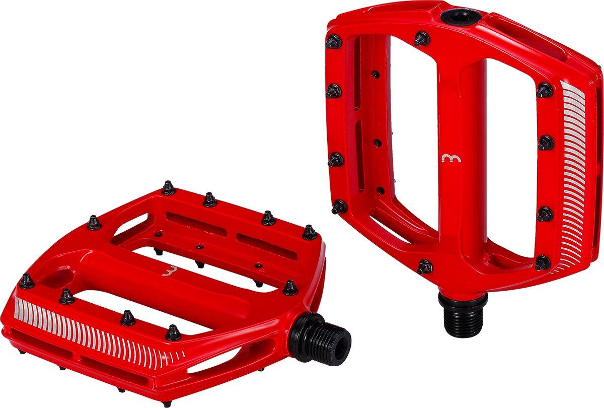 BBB BPD-36 CoolRide Pedalen - MTB - Anti-Slip pinnen - Rood kopen