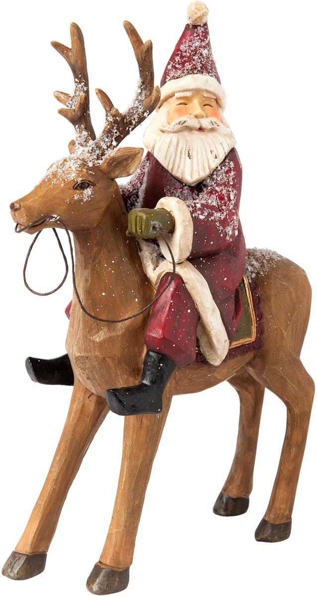 Kerstman 20*7*26 cm Bruin   6PR1147   Clayre & Eef kopen