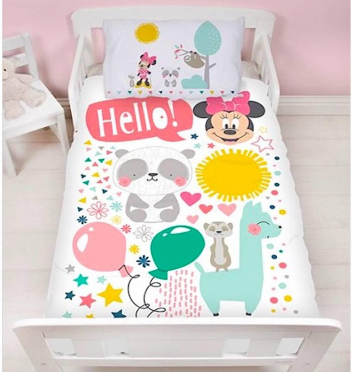 Disney Minnie Mouse Friends junior - Dekbedovertrek - 120 x 150 cm - Multi kopen