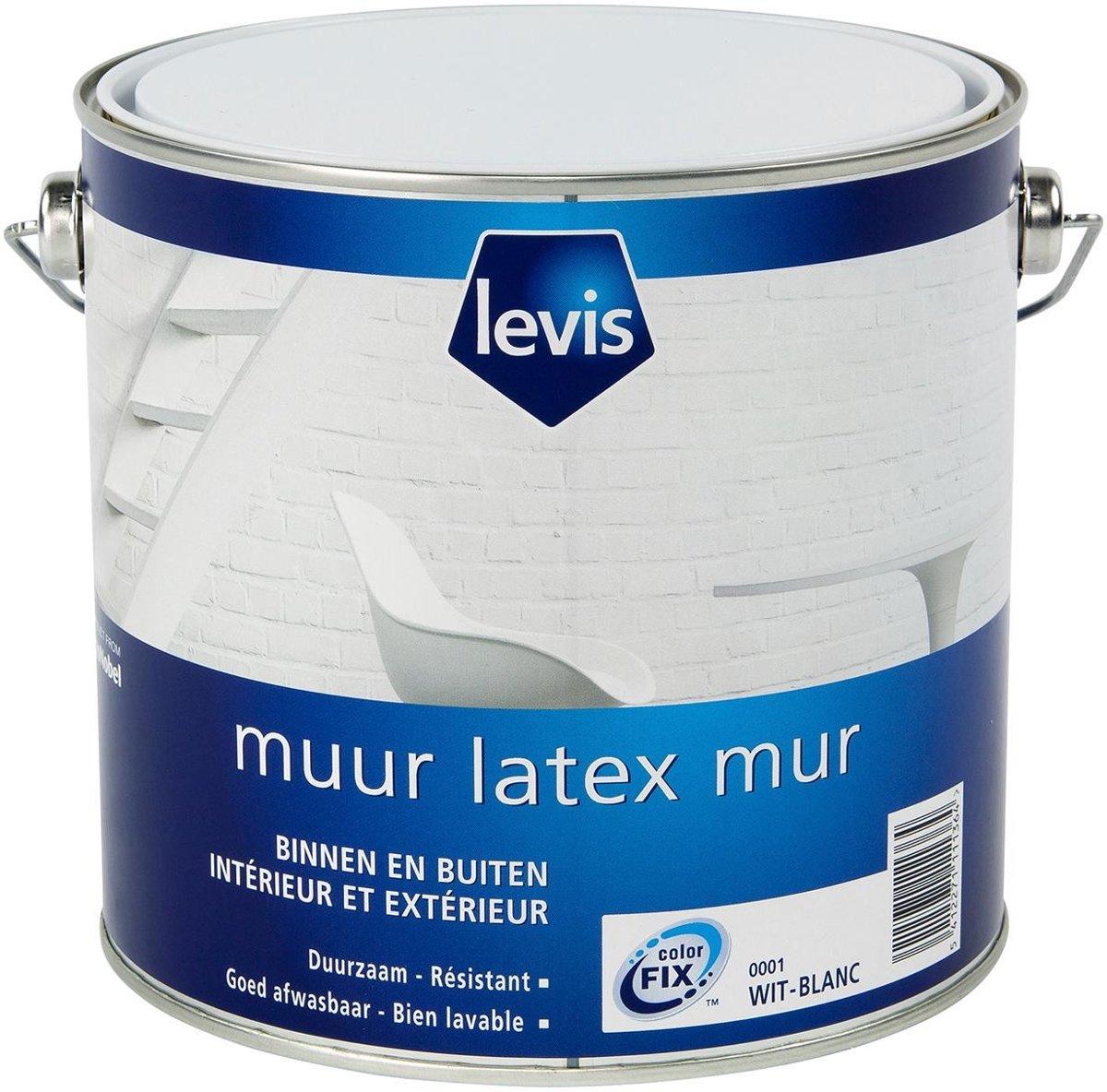 Muurverf Latex mat 2,5l  001 kopen
