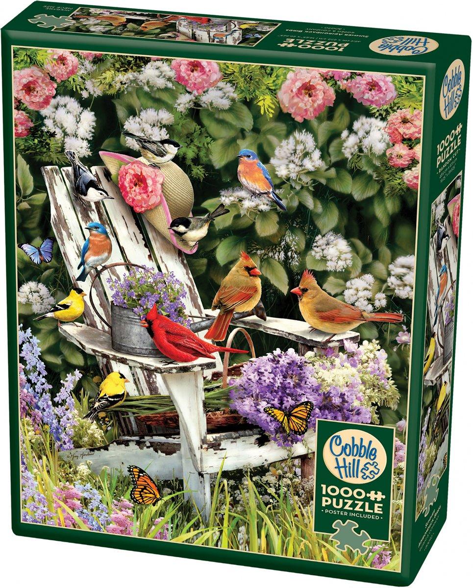 Cobble Hill Legpuzzel Summer Adirondack Birds 1000 Stukjes kopen