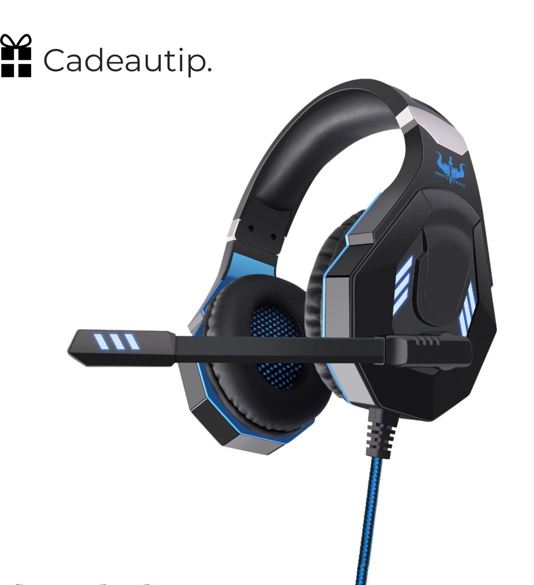 Ovleng GT93 RGB Gaming Headset - Zwart/Blauw | Stereo Gaming Headset - LED Game Headset - Geschikt voor o.a. PS4, Xbox, PC, Smartphone, Tablet, Switch & meer! kopen