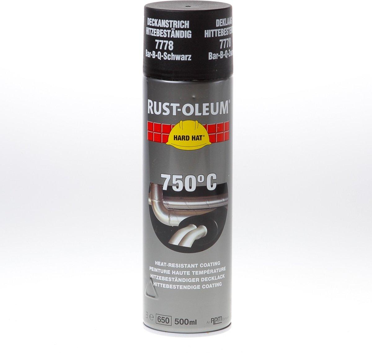 Rust-Oleum Coating hittebestendig zwart 500ml kopen