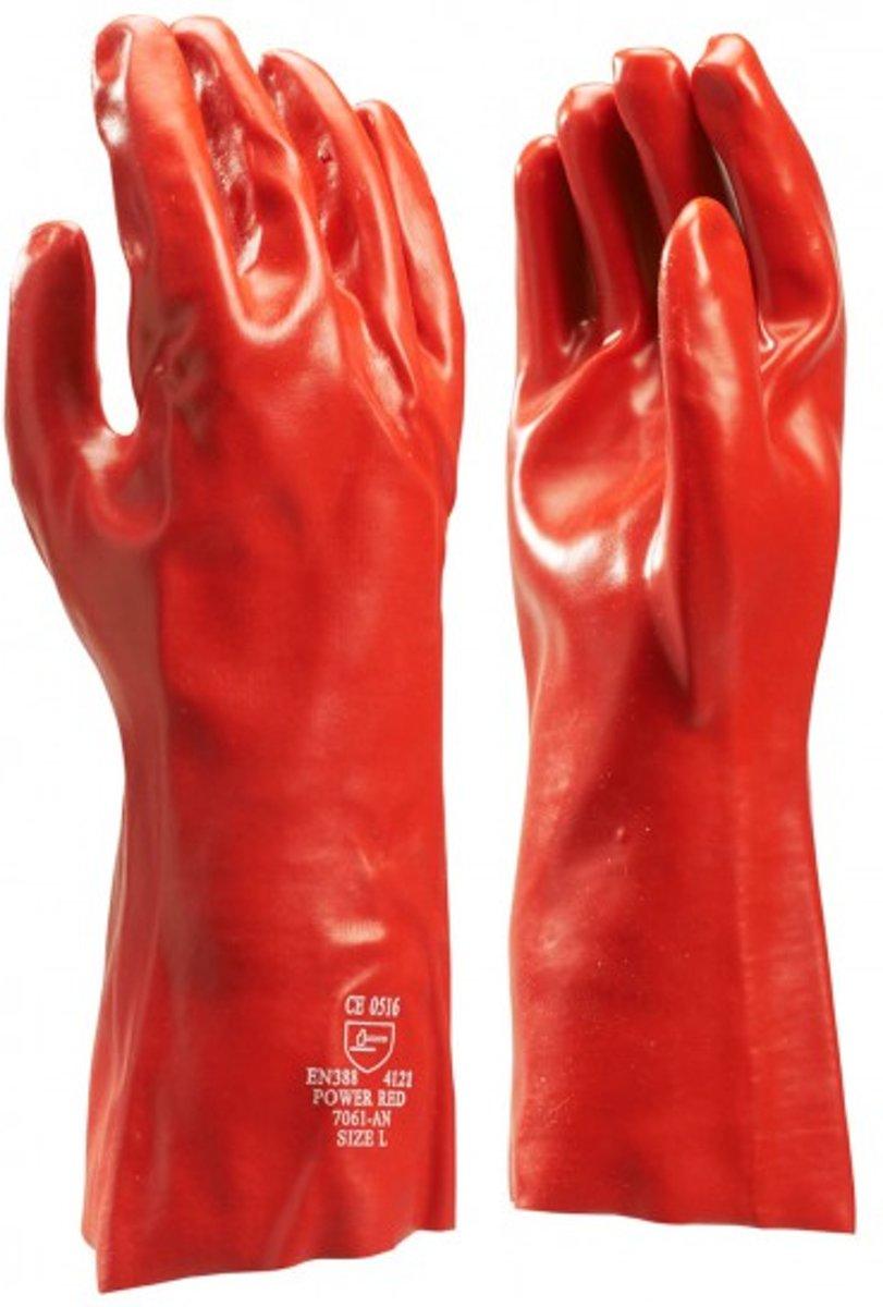 PVC Werkhandschoen 35cm HBV - Maat  XL kopen