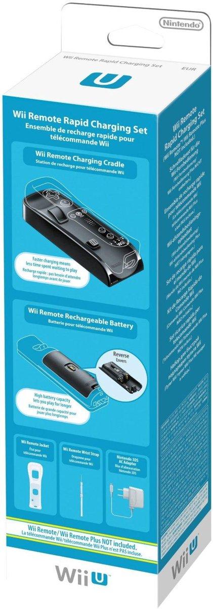 Remote Controller Oplader Set Wii + Wii U voor €15,64