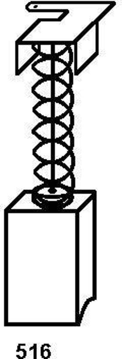 Koolborstel-set 1639 voor Rupes handgereedschap, met automatische stop kopen
