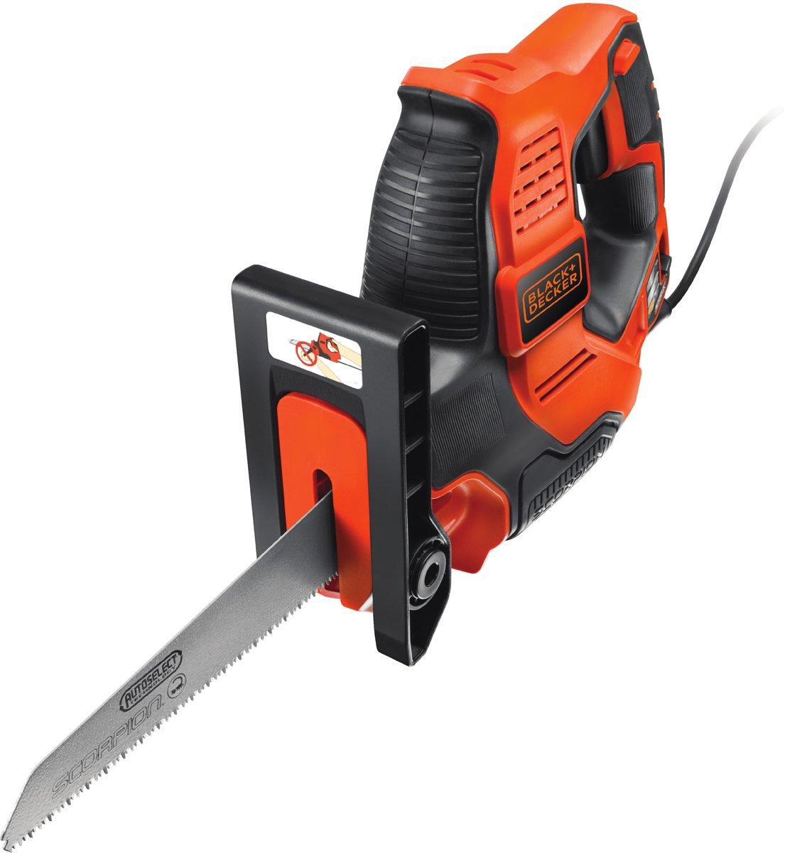 BLACK+DECKER - RS890K-QS - 500W  Scorpion® 3-in-1 Elektrische zaag met Autoselect, koffer en 3 zaagbladen kopen