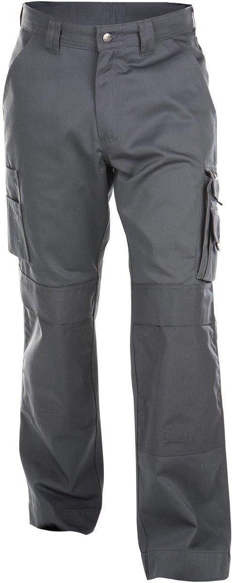Dassy Miami Werkbroek met kniezakken Grijs - 245 g/m² maat 42 kopen
