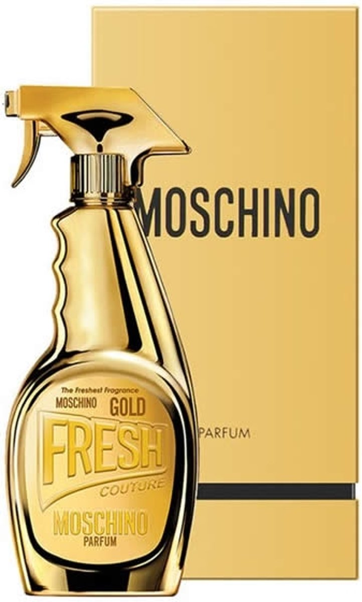 MULTI BUNDEL 3 stuks Moschino Fresh Gold Eau De Perfume Spray 30ml kopen