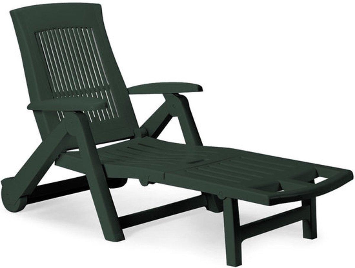 "Tuinstoel ""Zircone"", ligstoel, inklapbaar, weerbestendig, groen kopen"