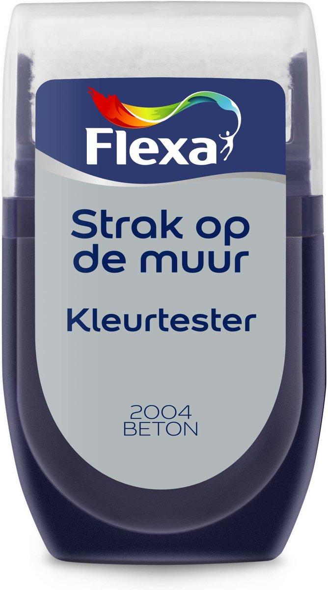 Flexa Strak op de Muur Muurverf Tester 2004 Beton 30 ML kopen