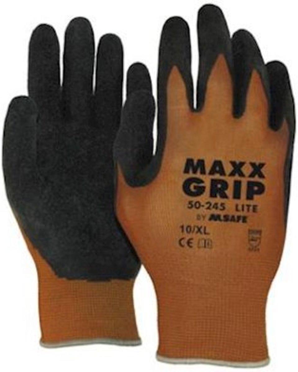 MAXX Grip Lite handschoen 50-245 bruin/zwart maat 9 kopen