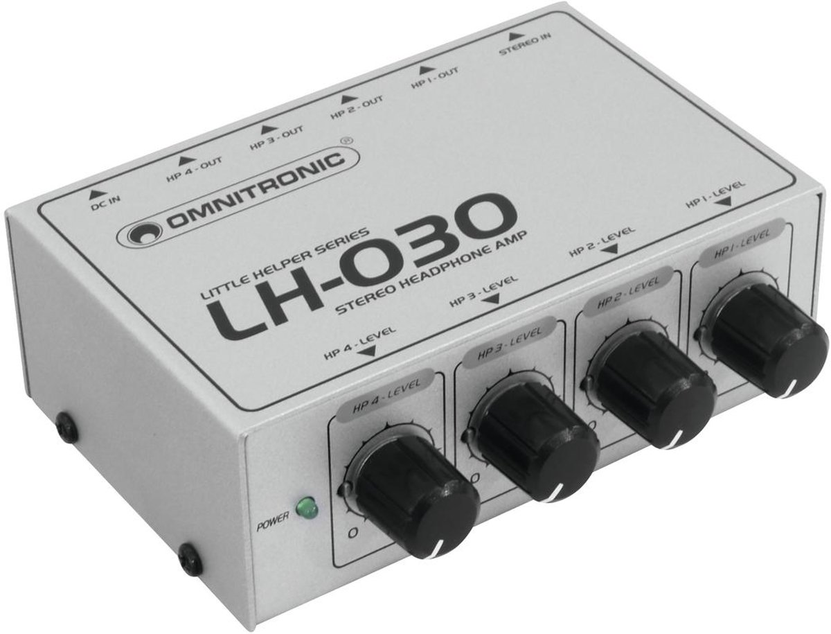 OMNITRONIC LH-030 Headphone Amplifier kopen