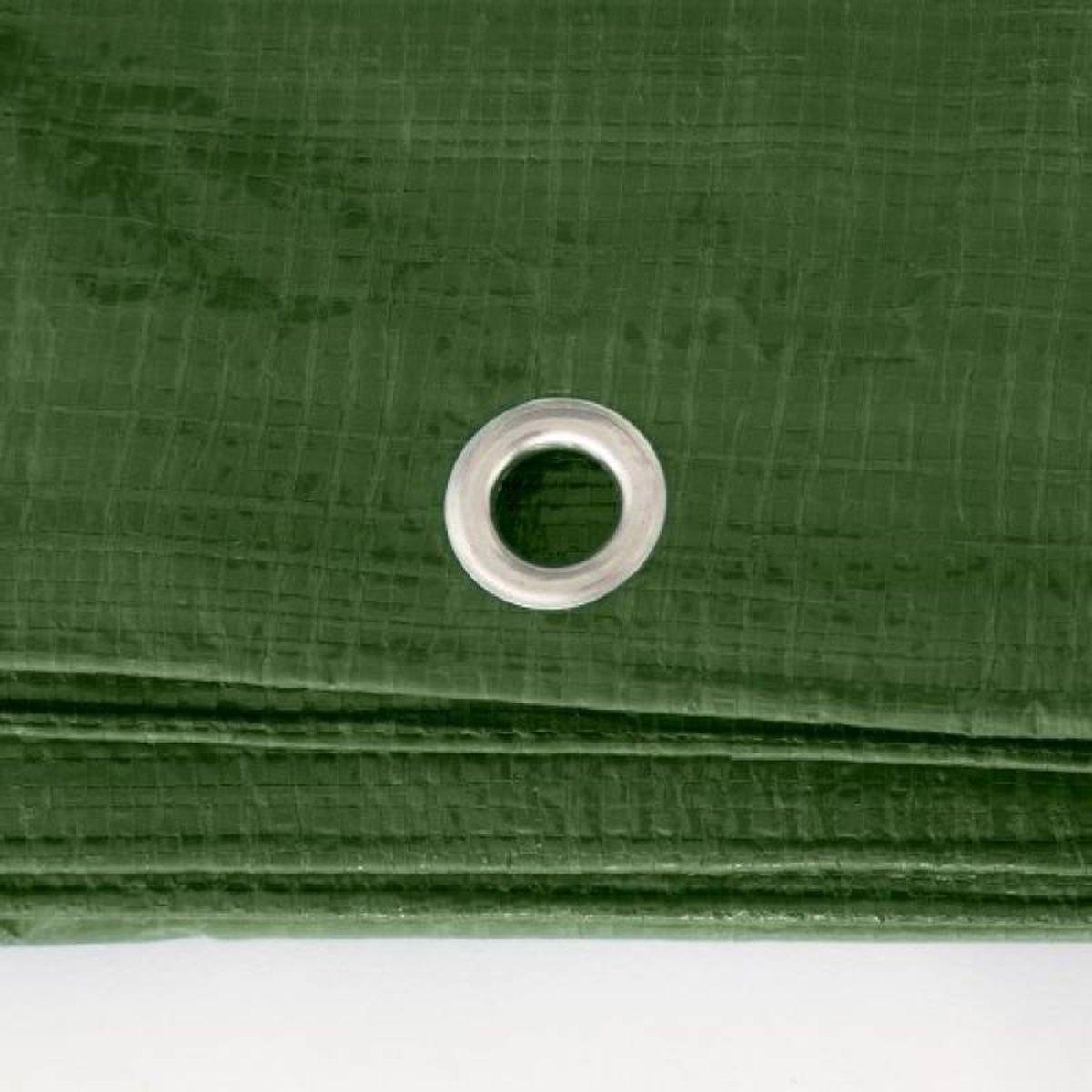 Afdekzeil 6 x 8 meter Groen 150 g/m2 kopen