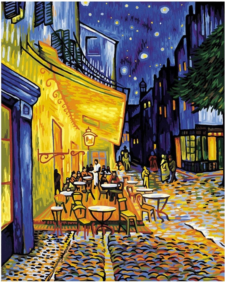 Schilderen op Nummer Schipper Nachtcafe bij terras kopen