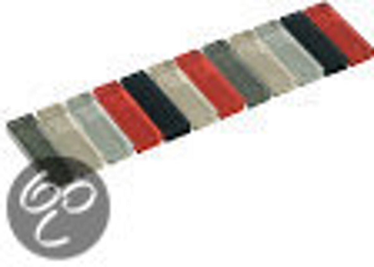 Listello Vitro stick grijs mix 4,8x20,0 cm -  Grijs Prijs per 1 stuk. kopen