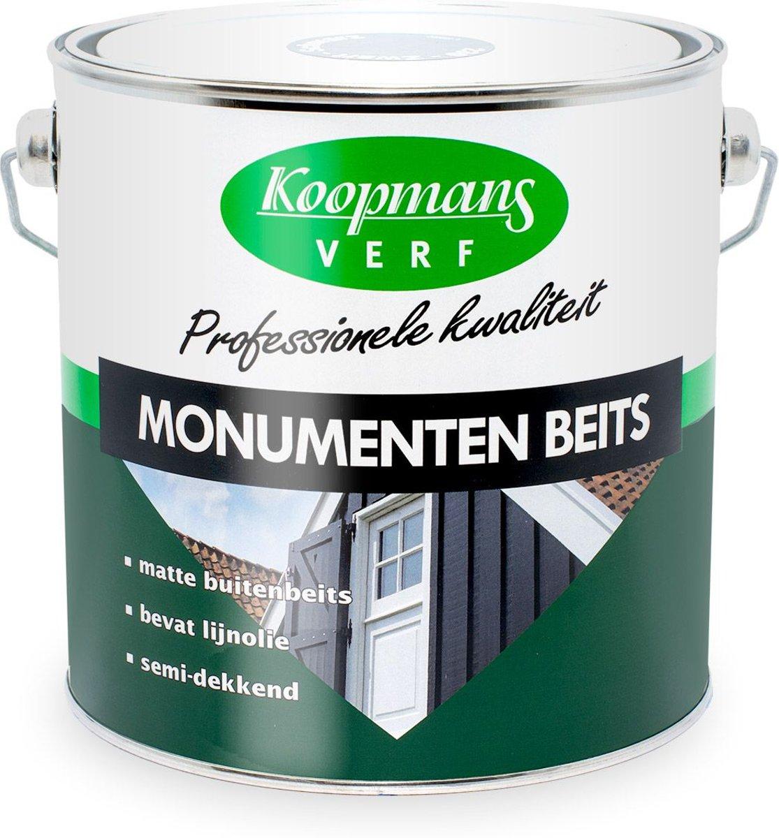 Koopmans Monumentenbeits Zwart - 2.5 l kopen