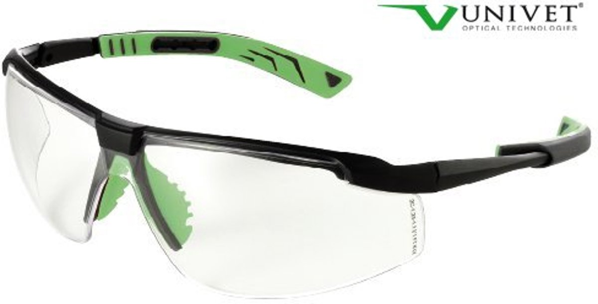 Univet veiligheidsbril type 5X8 Clear kopen