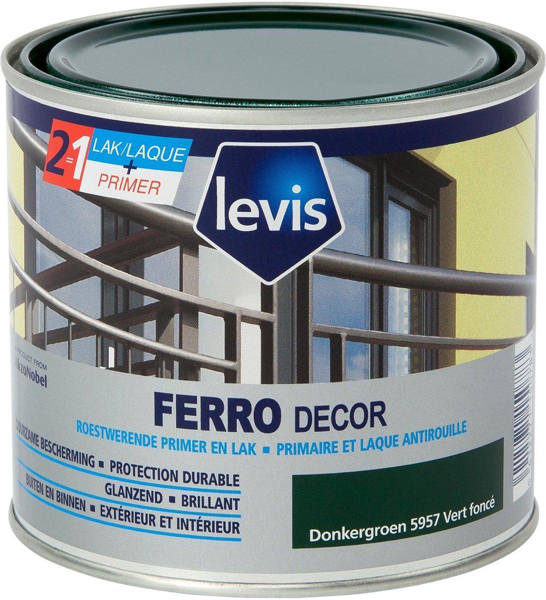 Lak Ferro decor 0,5l 5957 Donkergroen kopen