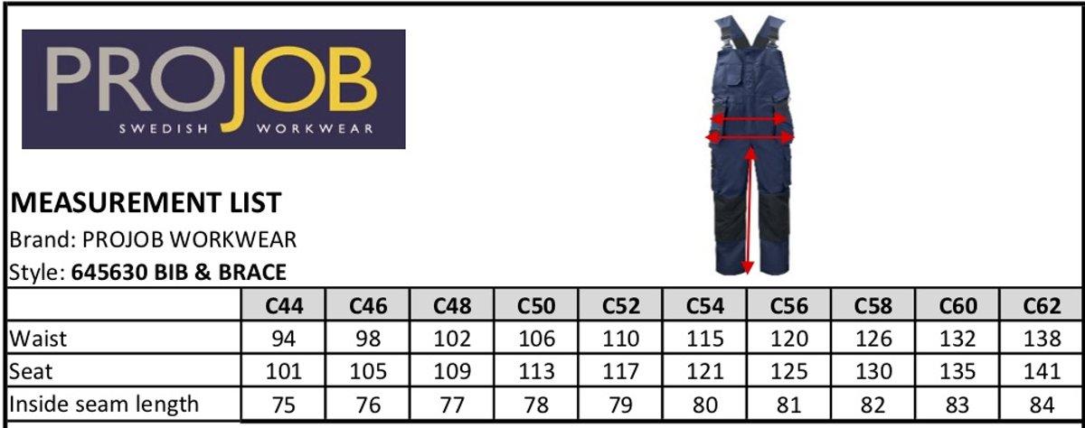 Projob 5630 Overall / Bodybroek Woudgroen maat 44 kopen