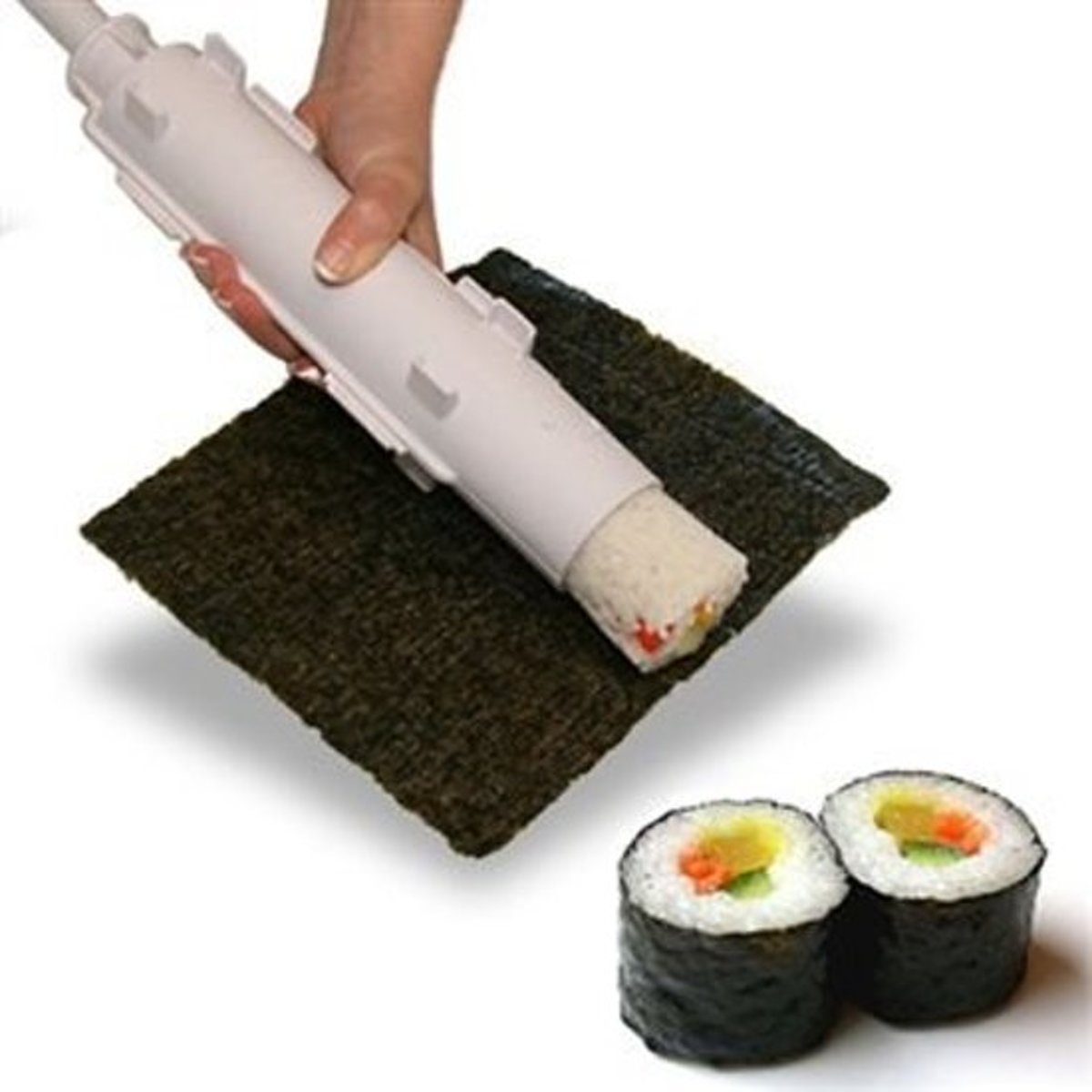 Sushi Maker - Sushi Bazooka - Zelf Sushi Maken - Sushi Roller - Wit kopen