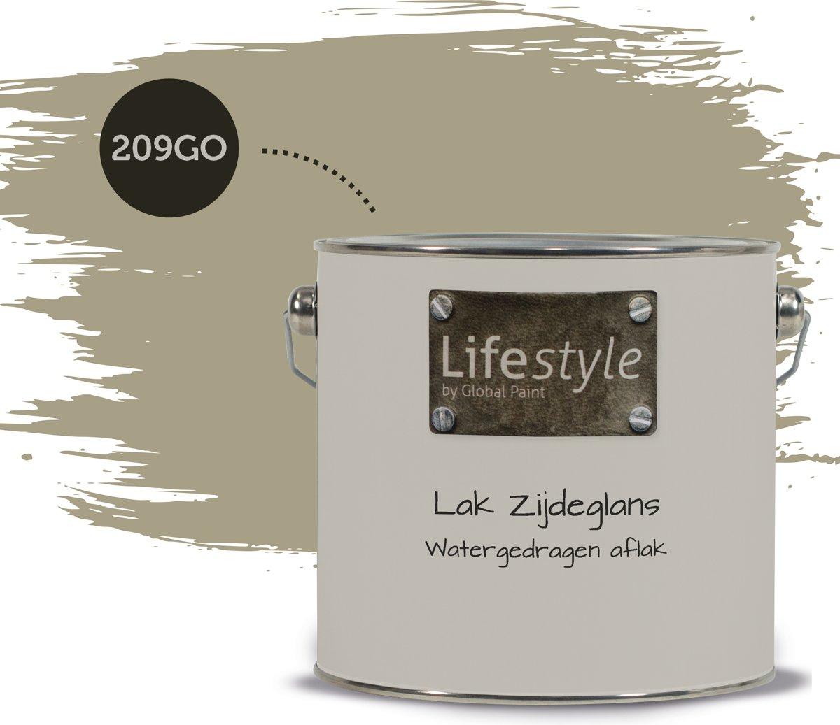 Lifestyle Lak Zijdeglans - 209GO - 2.5 liter kopen