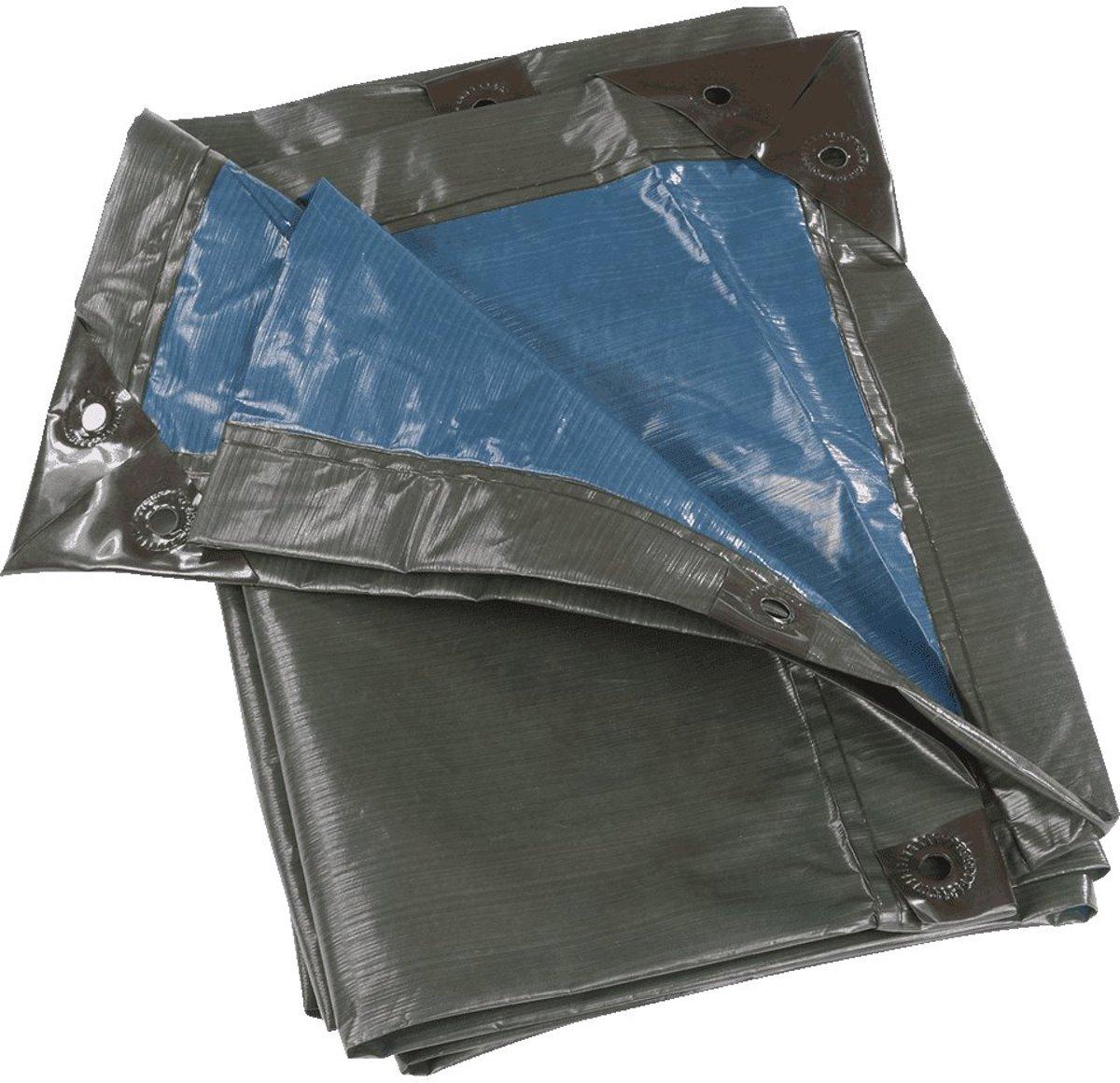 RAIN EXO Super sterke zeildoek 150 g / m², groen / blauw, 4 x 6 mt kopen