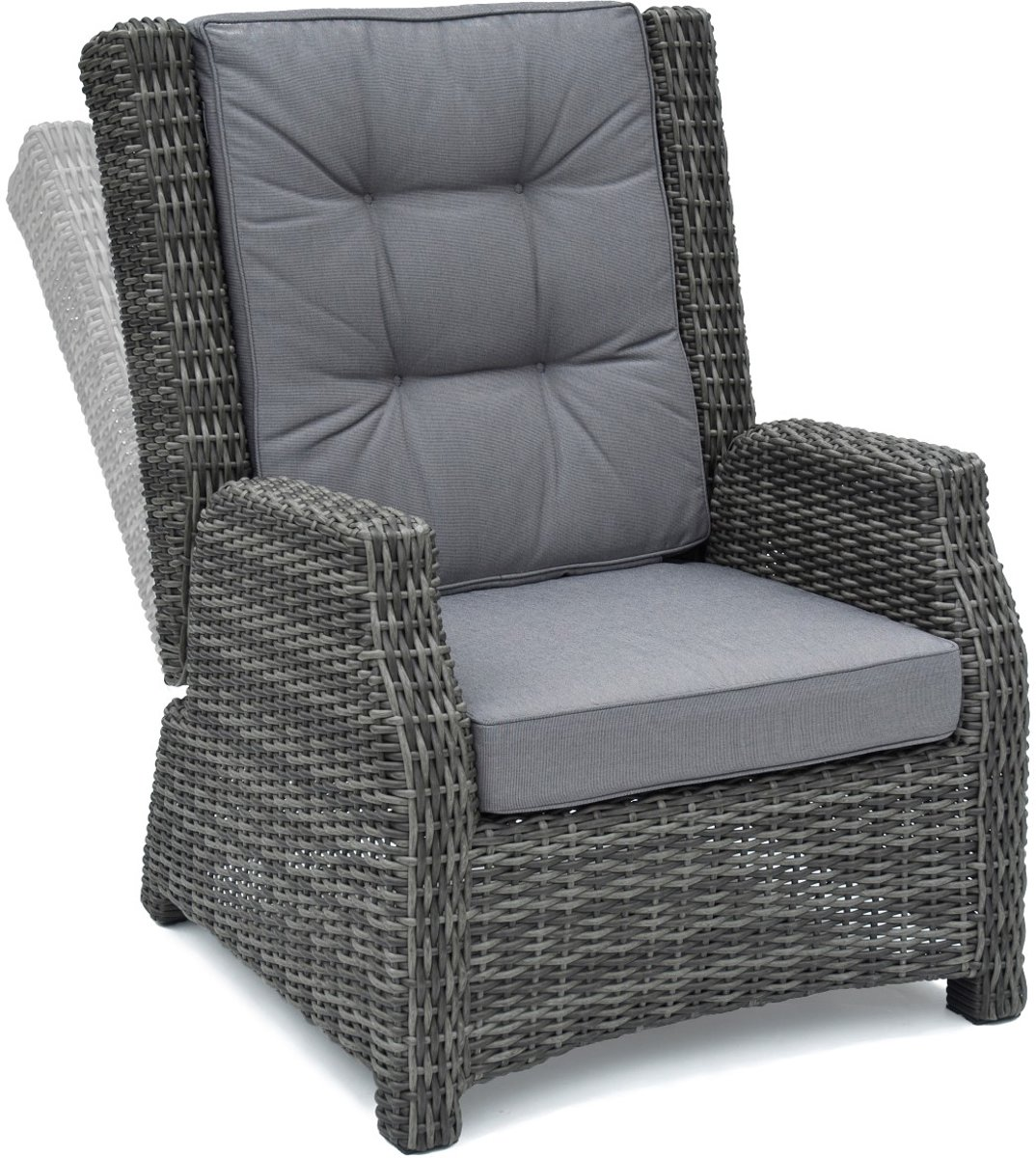Wellington Lounge Chair Royal Grey kopen