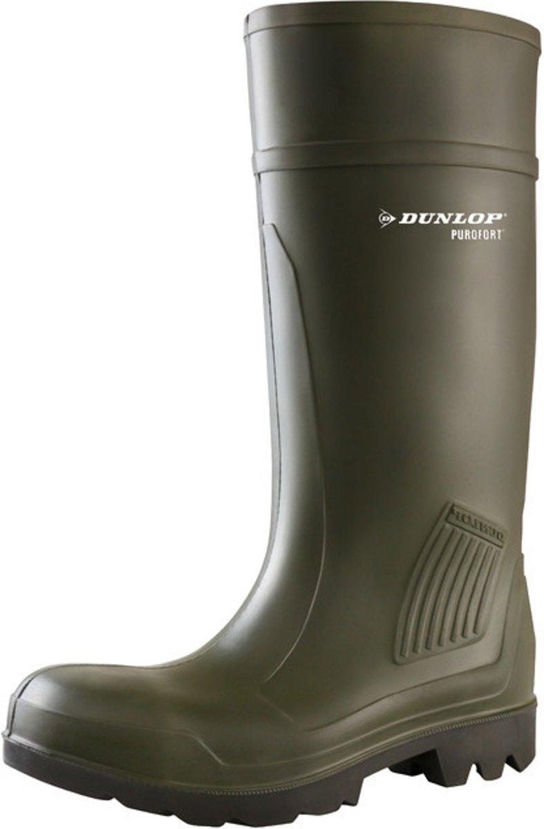 Dunlop D460933 Purofort Groen Knielaarzen Uniseks kopen