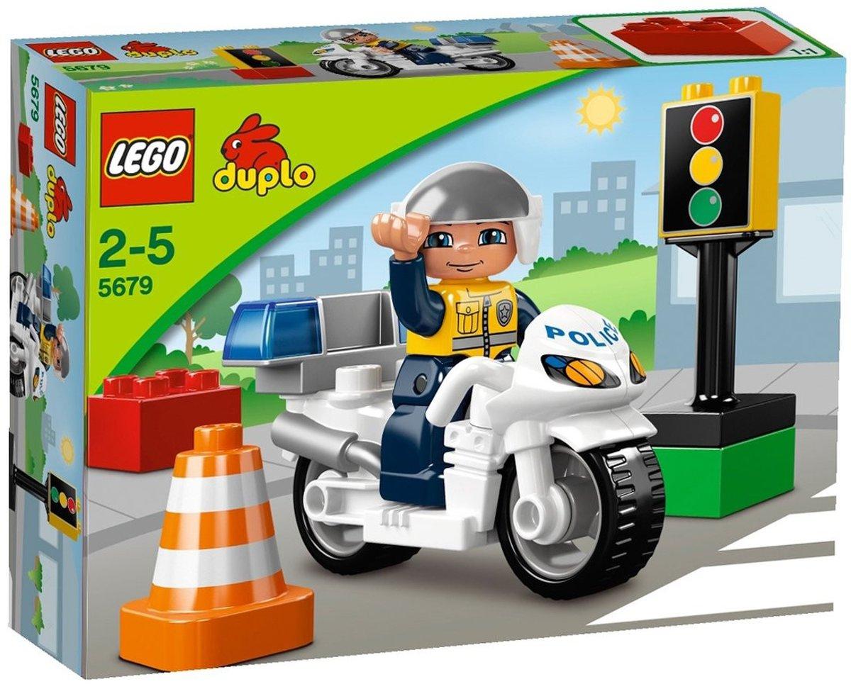 LEGO DUPLO Politiemotor - 5679