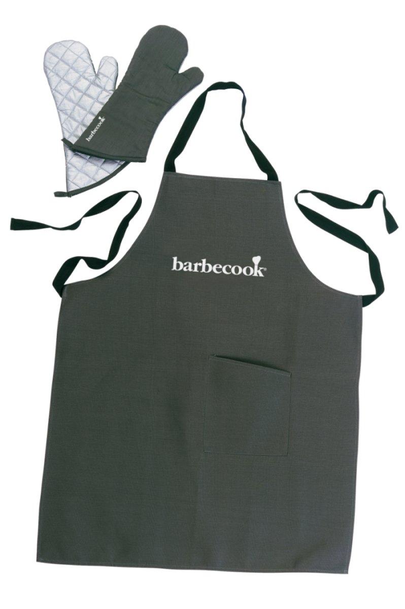 Barbecook Set Schort + Paar Handschoenen - 40cm kopen