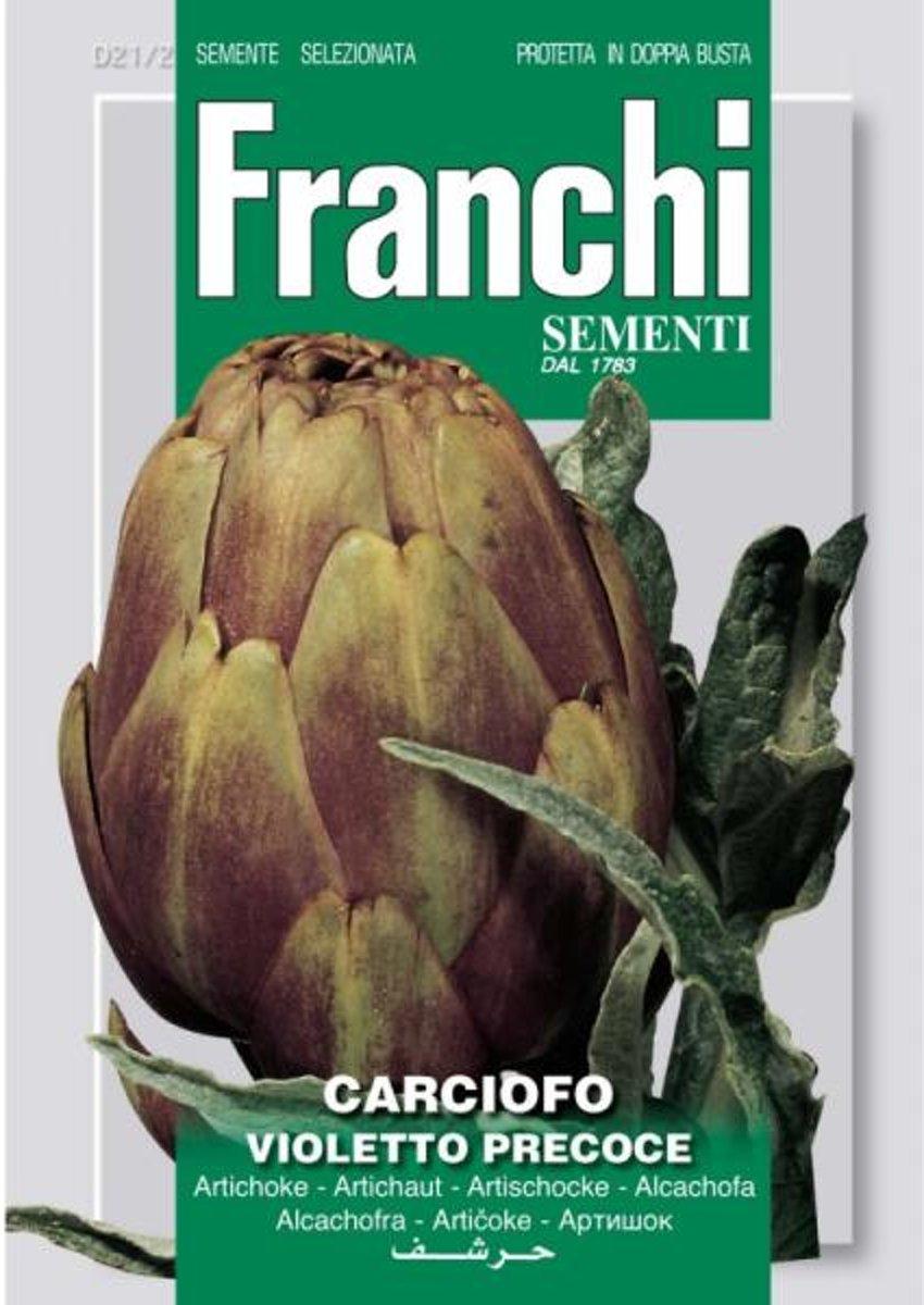 Carciofo Violetto Precoce - Artisjok  - set van 8 stuks kopen