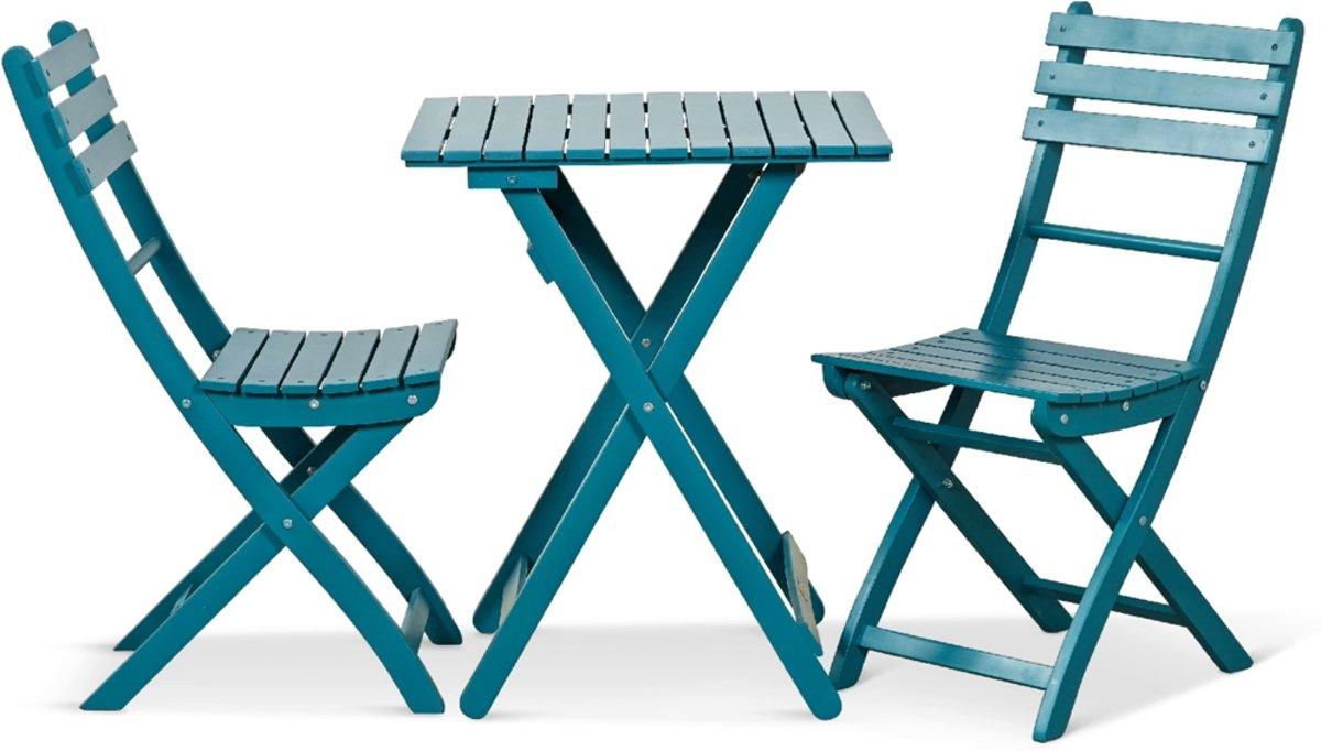 Lanterfant® Bistroset Tess – Inklapbaar – Compact – Vintage Blue kopen